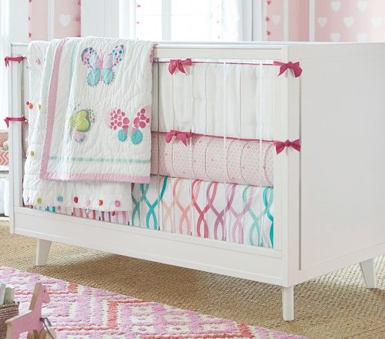 Lucy Butterfly Nursery Bedding Pottery Barn Kids Baby