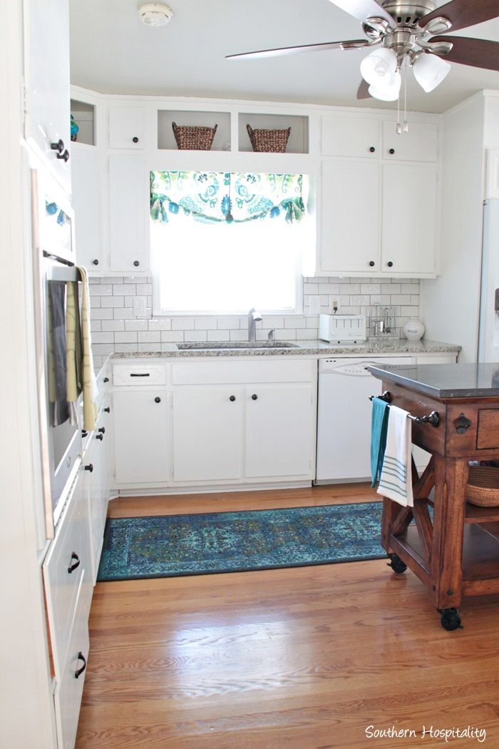 1950\u0027s Brick Ranch Kitchen Renovation Reveal Share online - Kitchen Renovation On A Budget