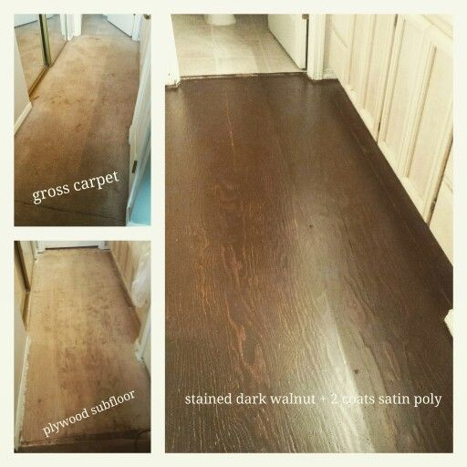 Diy Subfloor Makeover Stained Subfloor Stained Plywood Floors Diy Flooring Painted Plywood Floors