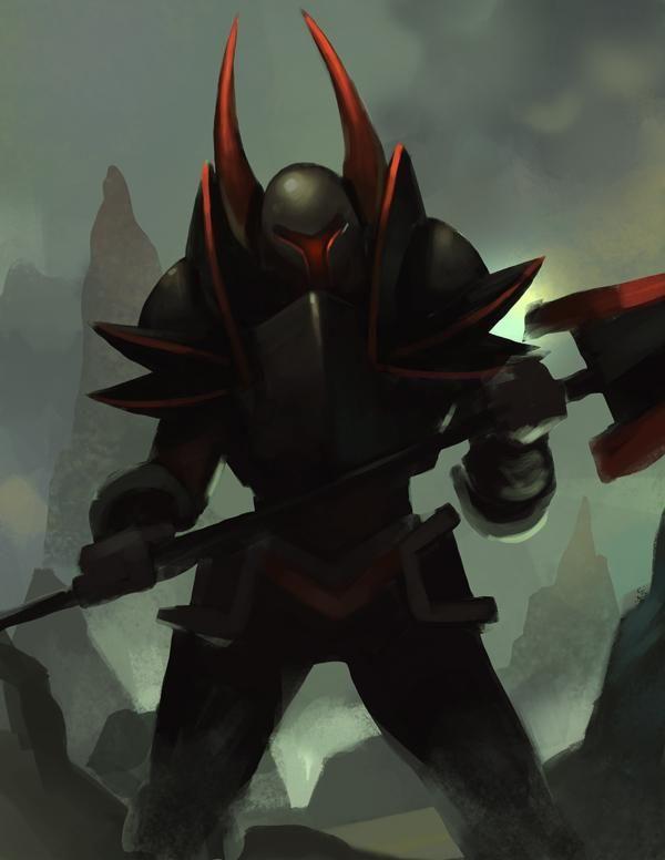 Michael B Myers Jr Drawsgood On Twitter Knight Shovel Knight Blackest Knight