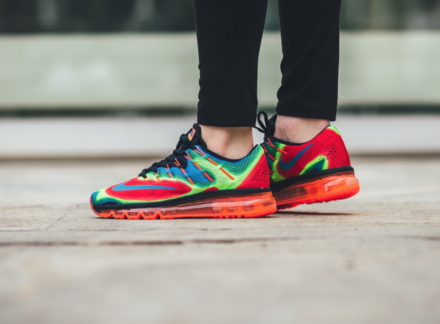 2016 nike air max multicolor