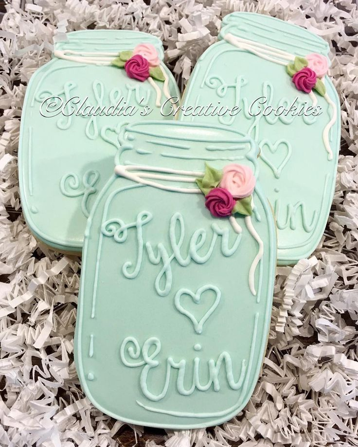 Simple Mason Wedding Favors I Like These Bc There S No Having A Ball Since