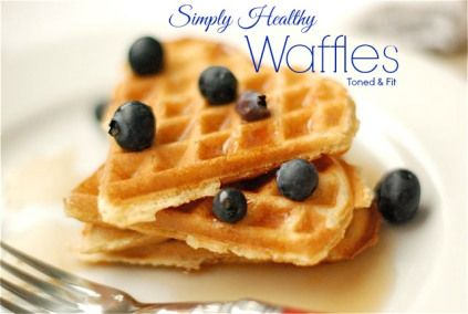 Simply Healthy Waffles -- Simple, Delicious, Clean Eating Recipe