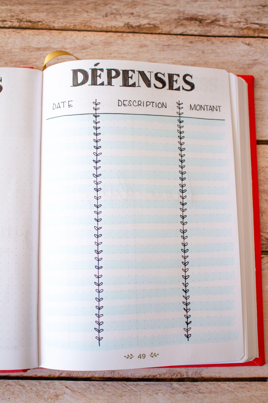 Decouvrez La Mise En Page De Janvier Mon Bullet Journal 2020 En 2020 Bullet Journal Cle De Puce De Journal Idees De Planificateur
