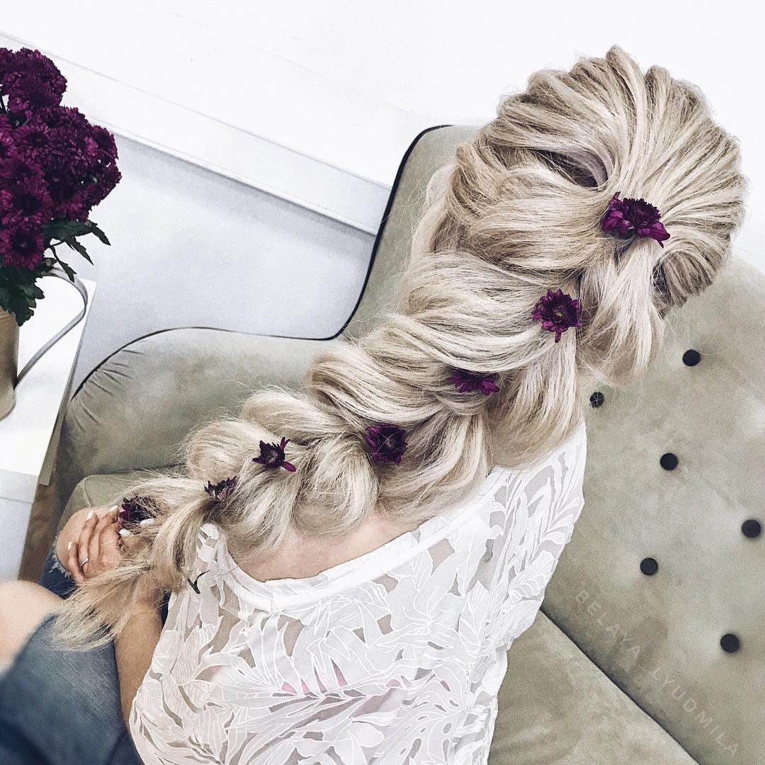 Gorgeous hairstyle inspiration – Belaya Lyudmila