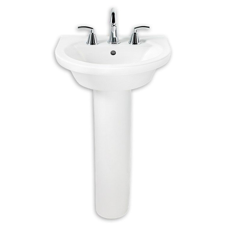 American Standard 0403 800 020 Tropic Petite 21 Pedestal Bathroom