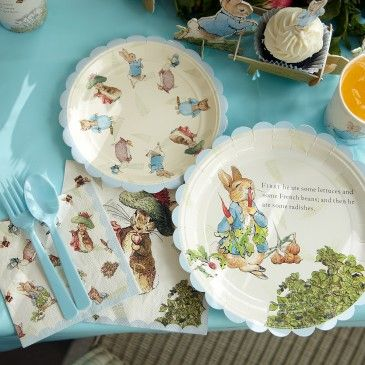 Peter Rabbit Party Theme