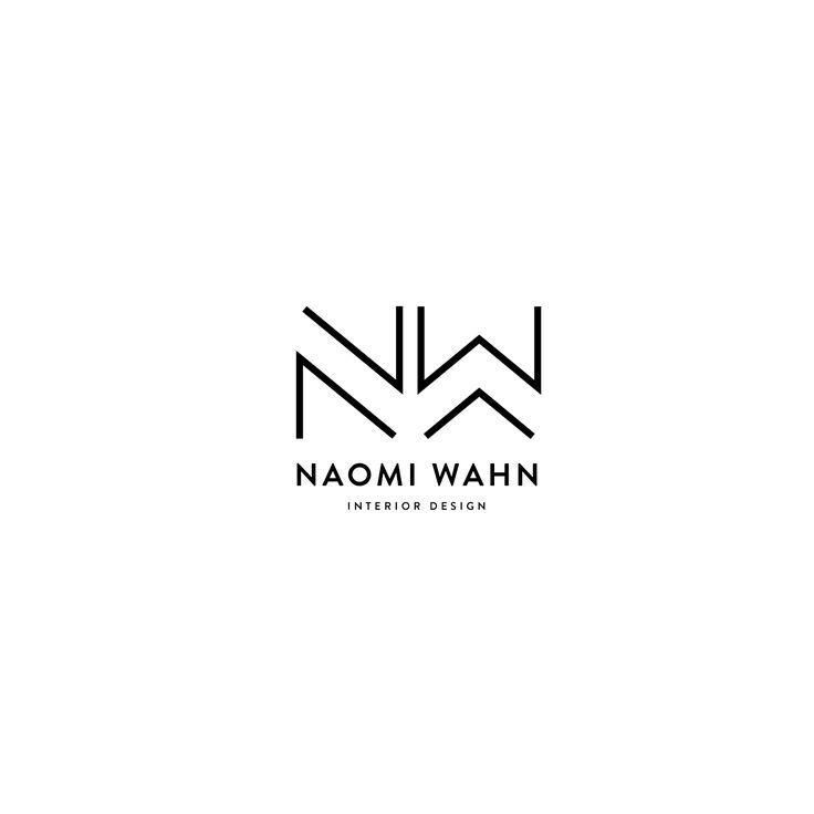 Mel volkman graphic design st augustine web interior brand modern logo monogram black also rh za pinterest