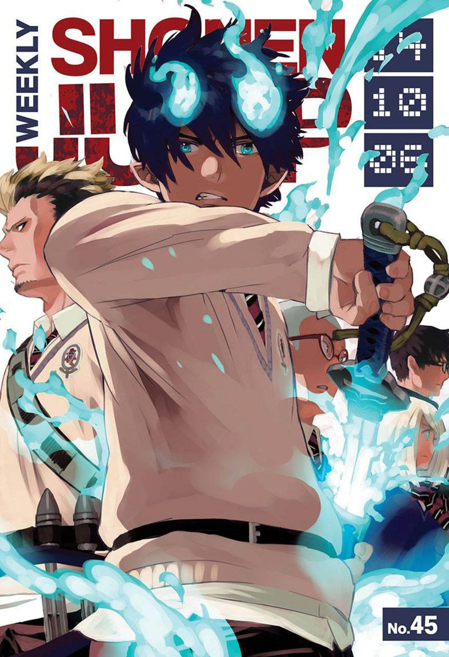 Pin by Jesse Roseberry on Ao no Exorcist in 2020 Blue