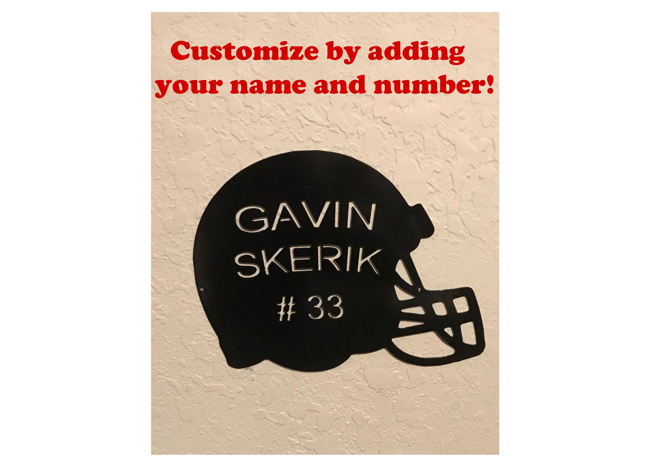 Customized Football Helmet Custom Football Helmets Handmade