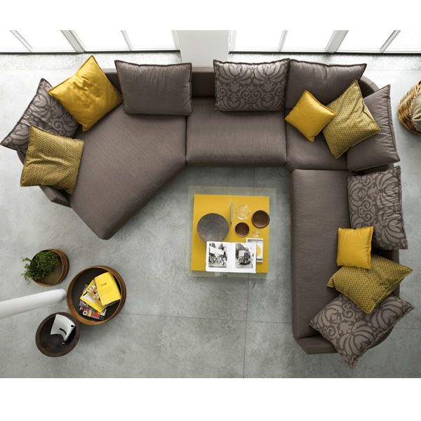 rolf benz modern furniture. Top View Of A Rolf Benz Onda Sofa Modern Furniture