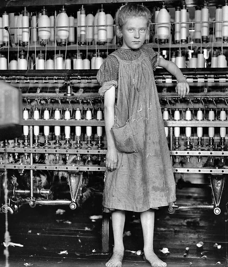 """Cotton Factory: The """"Mill Girls"""" Were Female Workers Who Came To Work For"""