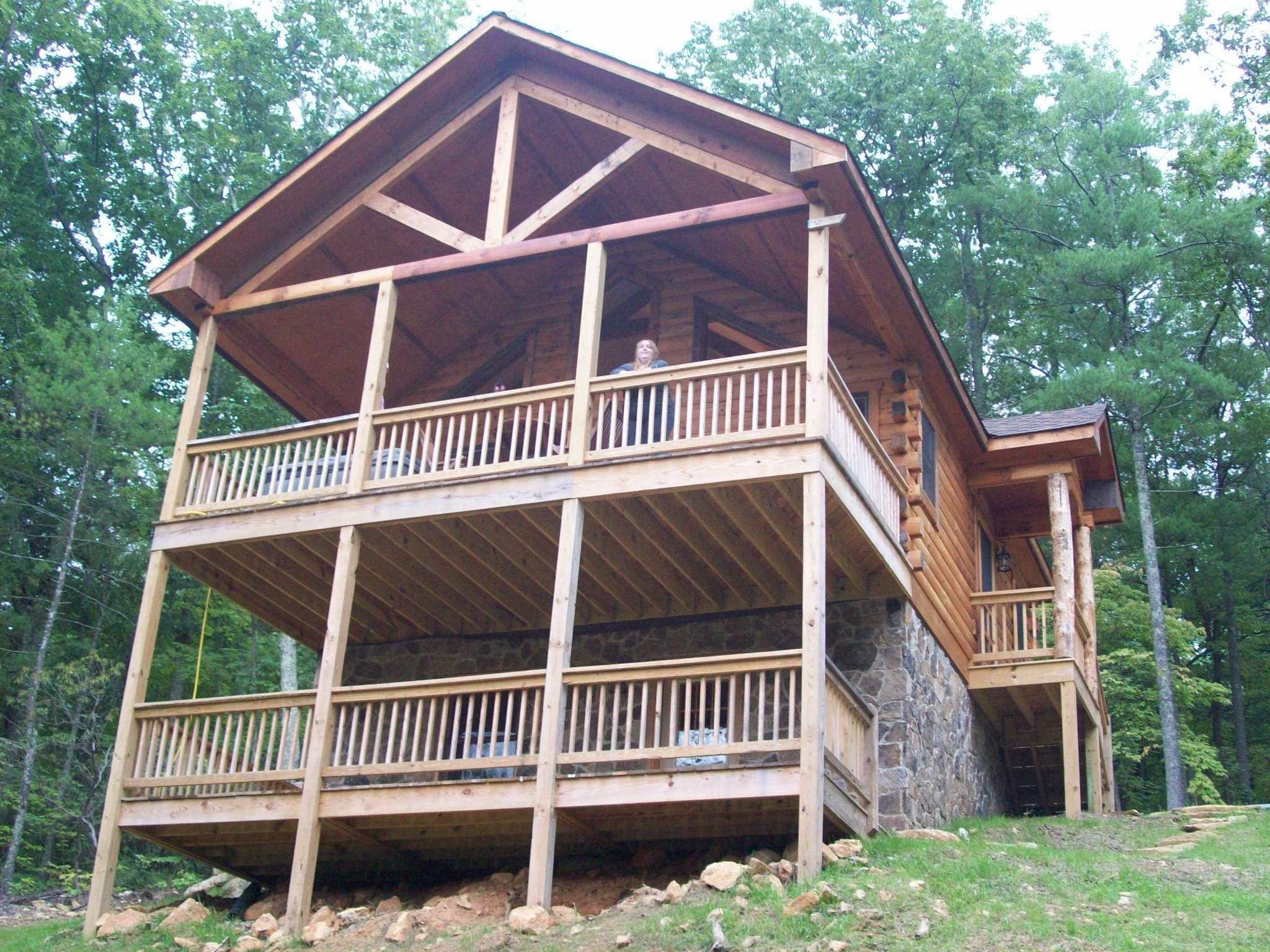 exterior virginia explore bedroom in cabins the reel log luxury harman s cabin retreat mountains