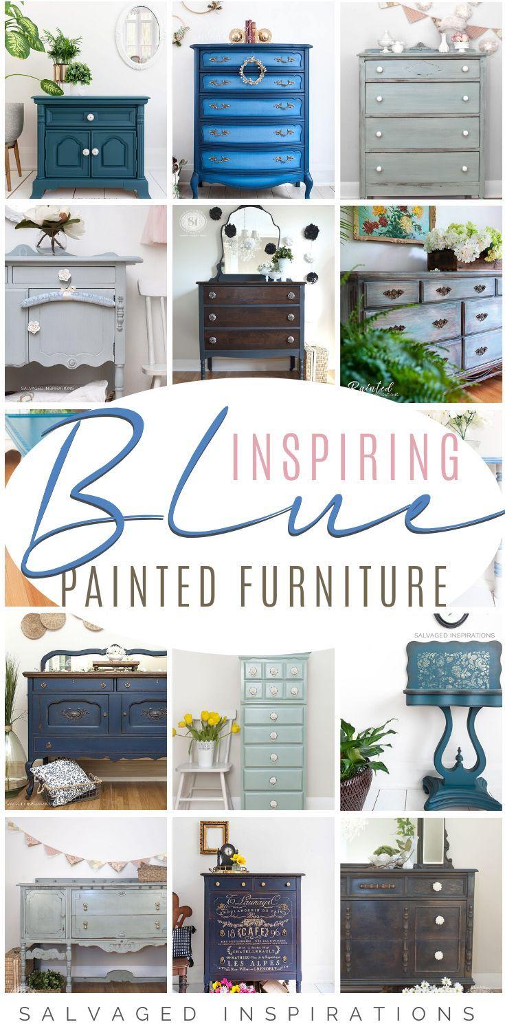 Blue Painted Furniture Ideas