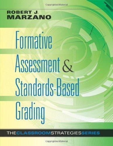 Formative Assessment  Standards-Based Grading (The Classroom - formative assessment strategies