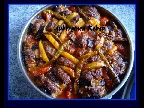 Auberginen Kebab-Patlican kebabi-Türkische Rezepte - YouTube ...