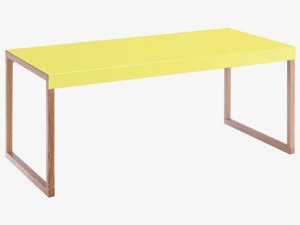 KILO YELLOWS Metal Neon yellow metal coffee table - HabitatUK - KILO YELLOWS Metal Neon Yellow Metal Coffee Table - HabitatUK