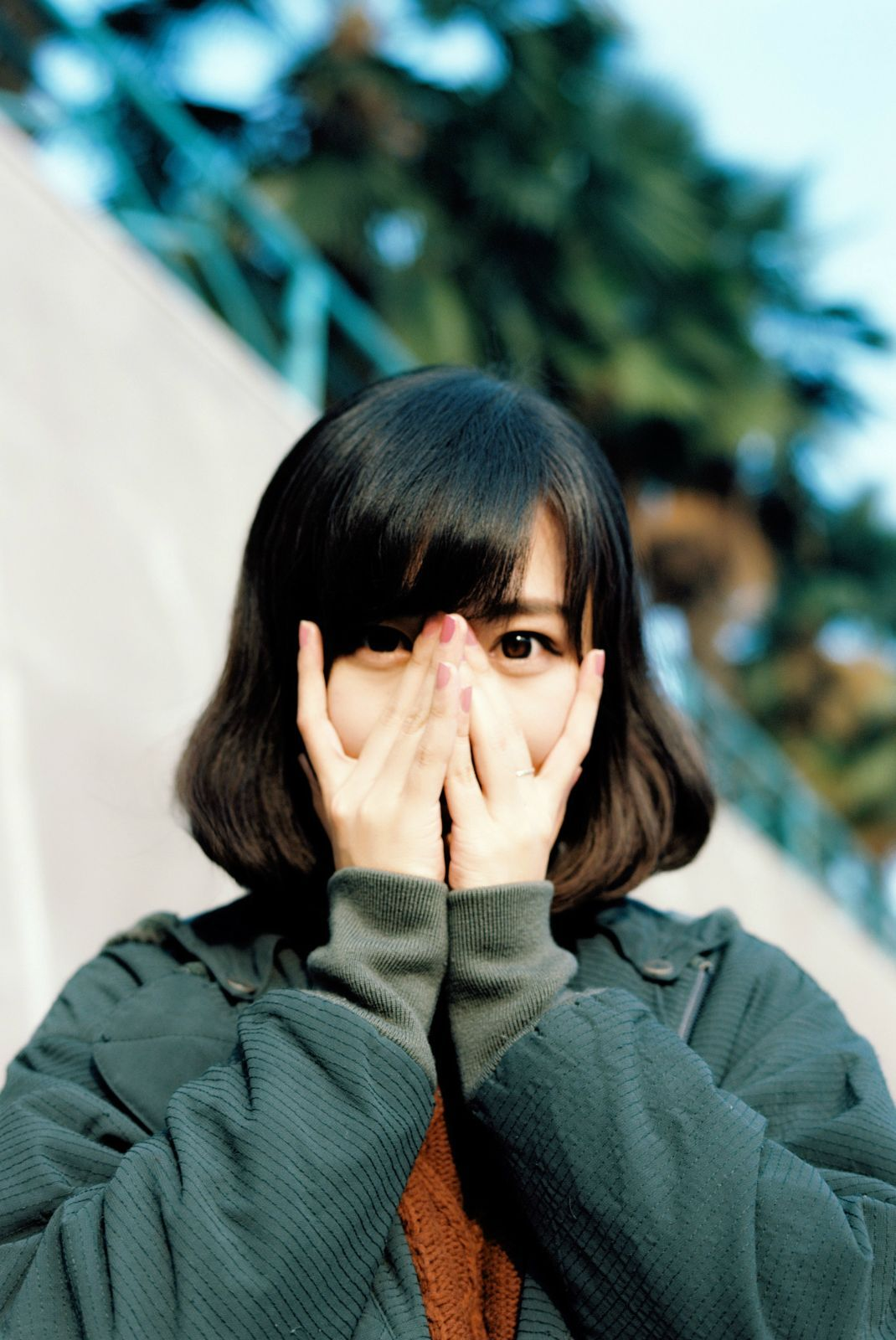Stranger anxiety short hair pinterest ulzzang girls and portraits