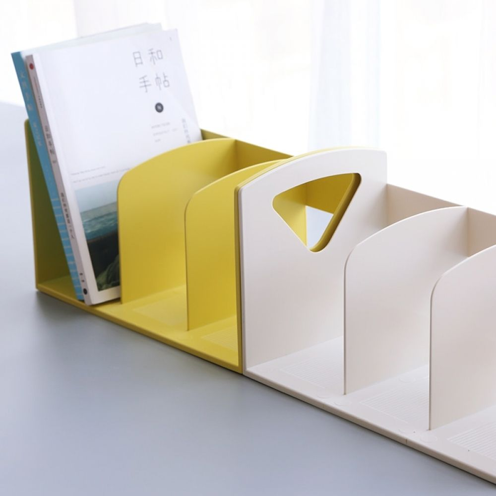 Creative multifunction pp bookshelf desk book organizer
