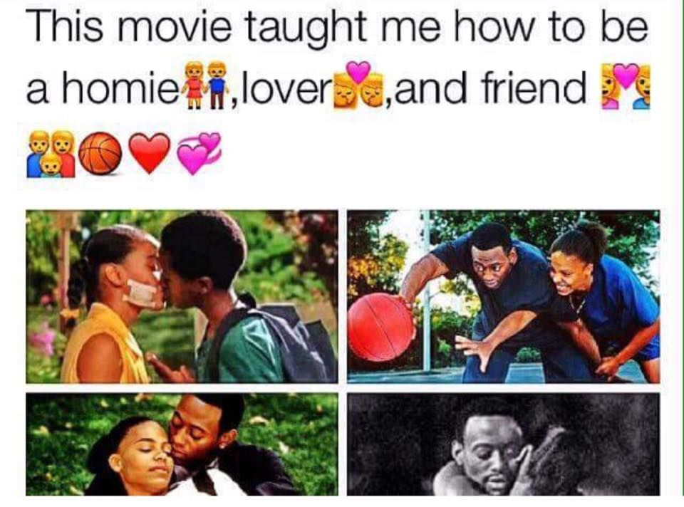 Love Basketball Love Love Love That Movie Words Of Truth