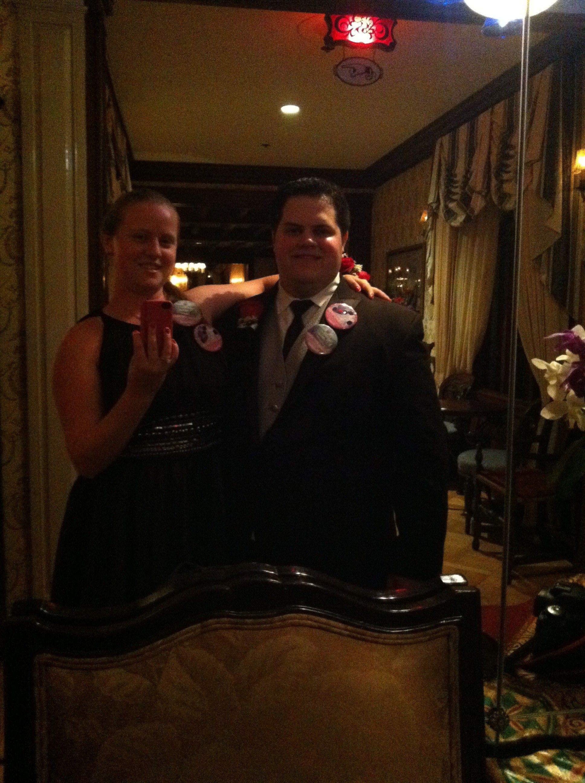 """""""Where he proposed! Club 33 inside Disneyland, such a romantic atmosphere once you get in!"""""""