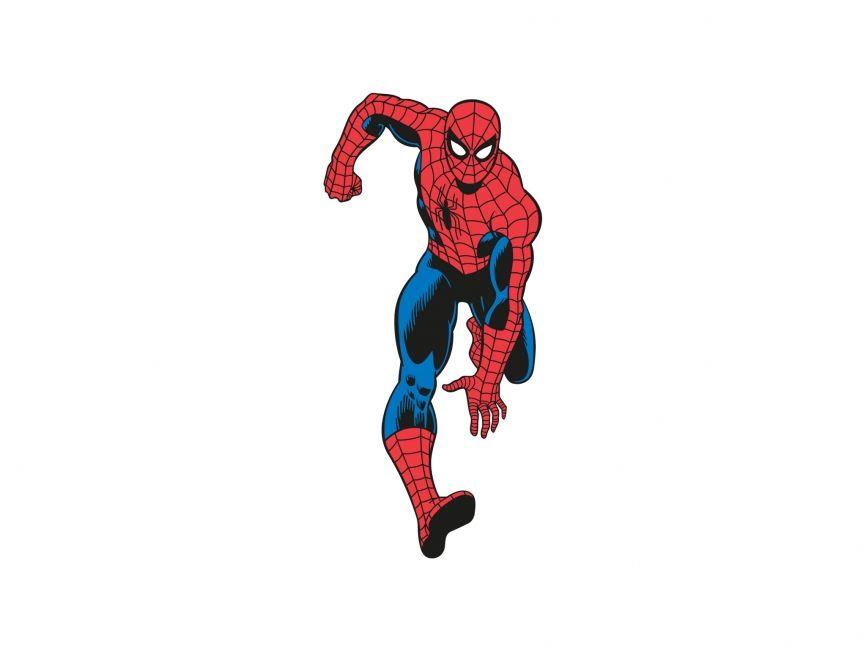 Spiderman Vector File Vector Elements Cartoon Logowik Com
