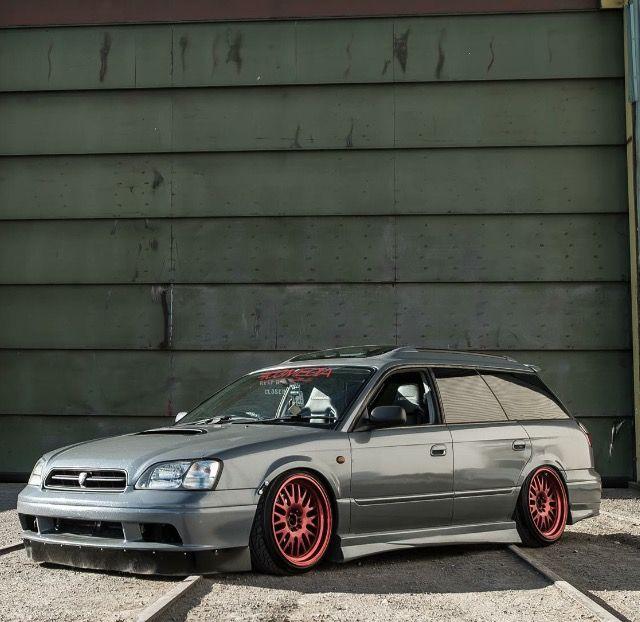 Subaru liberty wagon stance