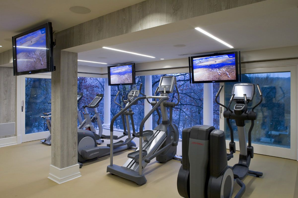 Ideas For Home Gym Design | Home Interior, Exciting Exercises Using Own Home  Gym Ideas