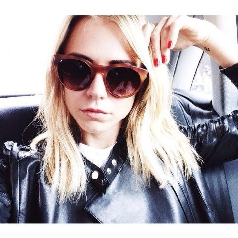 On Peoples Keep Alwaysjudging 'alivia' Oliver SunglassesSpotted 9EIWDH2