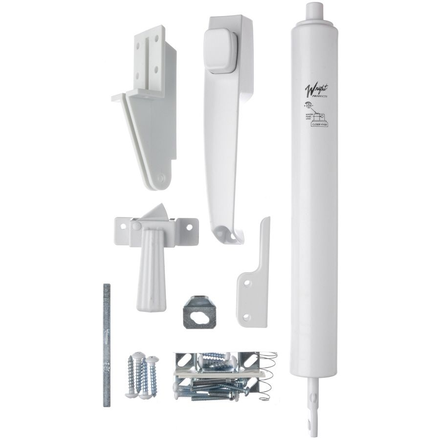 Shop WRIGHT PRODUCTS Die Cast Screen Door And Storm Door Push Button Kit At  Lowes.com