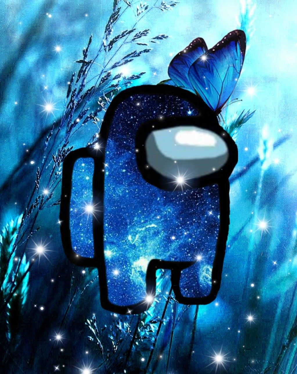 Among Us Blue In 2021 Wallpaper Iphone Cute Wallpaper Iphone Neon Cool Backgrounds Wallpapers
