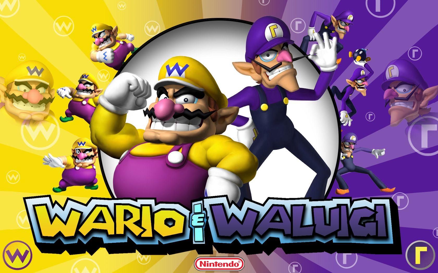 Wario Waluigi Super Mario Super Mario Bros Mario