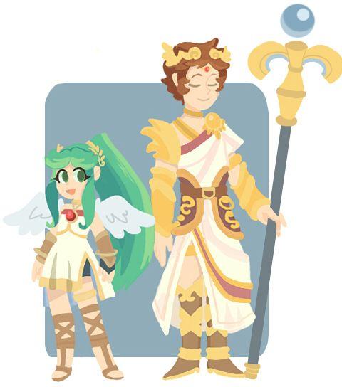 Palutena And Zelda Kiss | www.pixshark.com - Images ...
