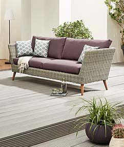Neue Gartenmobel Online Kaufen Jetzt Auf Tchibo De Outdoor Sofa Polyrattan Sofa Gartenmobel