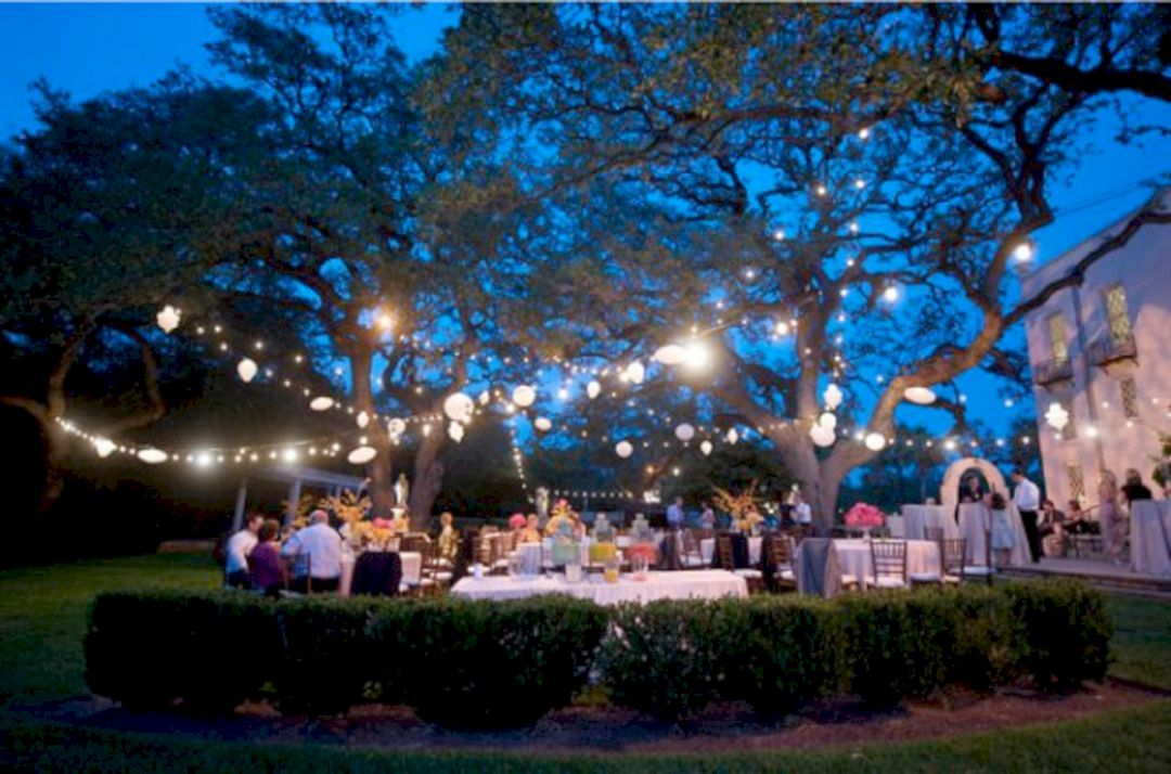 Awesome 35 Wonderful Summer Outdoor Wedding Decoration Ideas For Your Best Inspiration Https