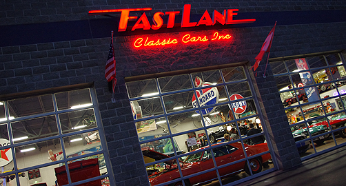 Find automotive fun fast at Fast Lane Classic Cars in St