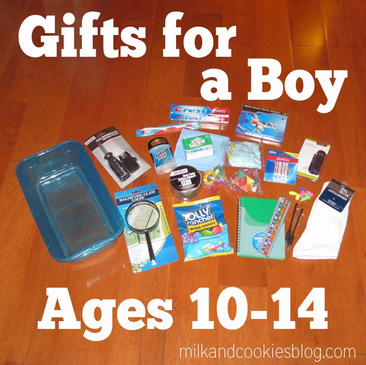 Operation Christmas Child: Gifts for a 10-14 year old boy ...