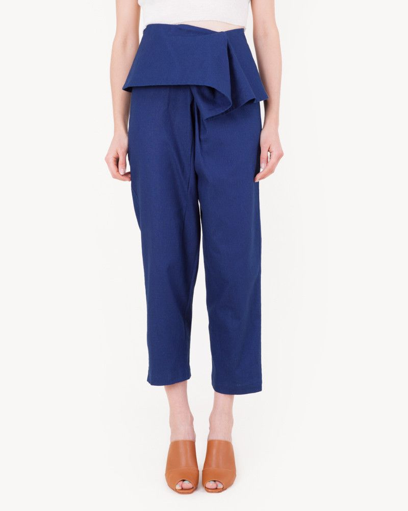 Wharf Trouser in Indigo