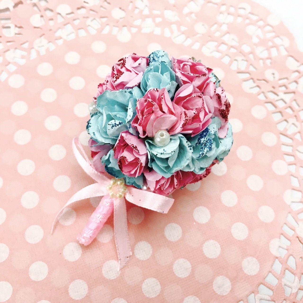 Wedding Bouquet Keychain-Wedding Gift -Romantic Bouquet - Bowtie ...