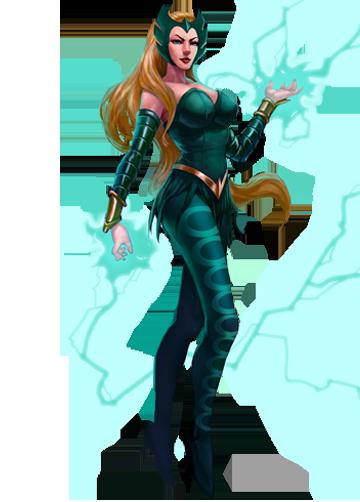 Enchantress (Character) - Comic Vine