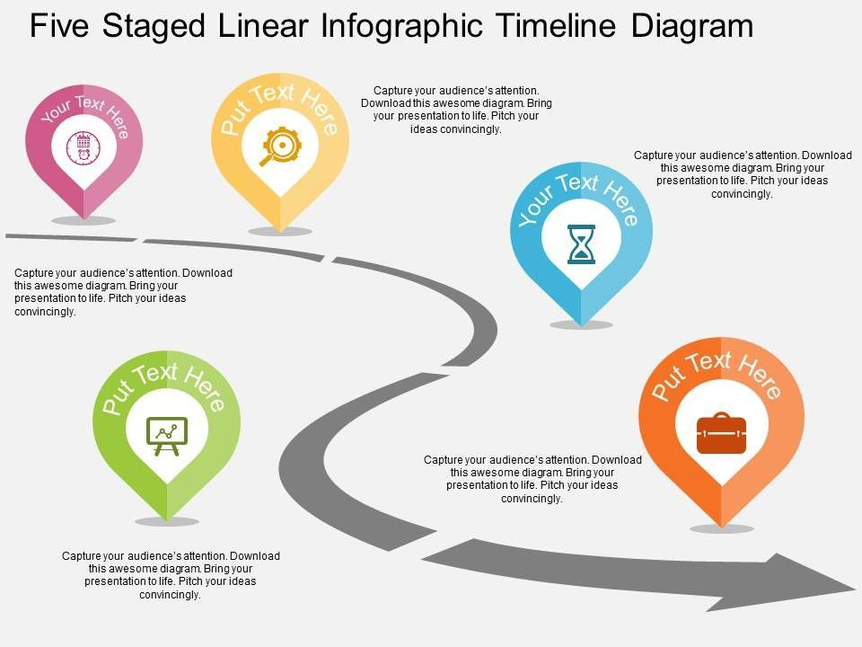 Timeline Roadmap Powerpoint Templates And Presentation Slides Blog - Roadmap ppt template free download