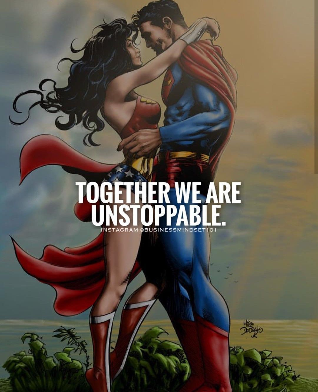 Together We Are Unstoppable Wonder Woman Superman Wonder Woman Instagram