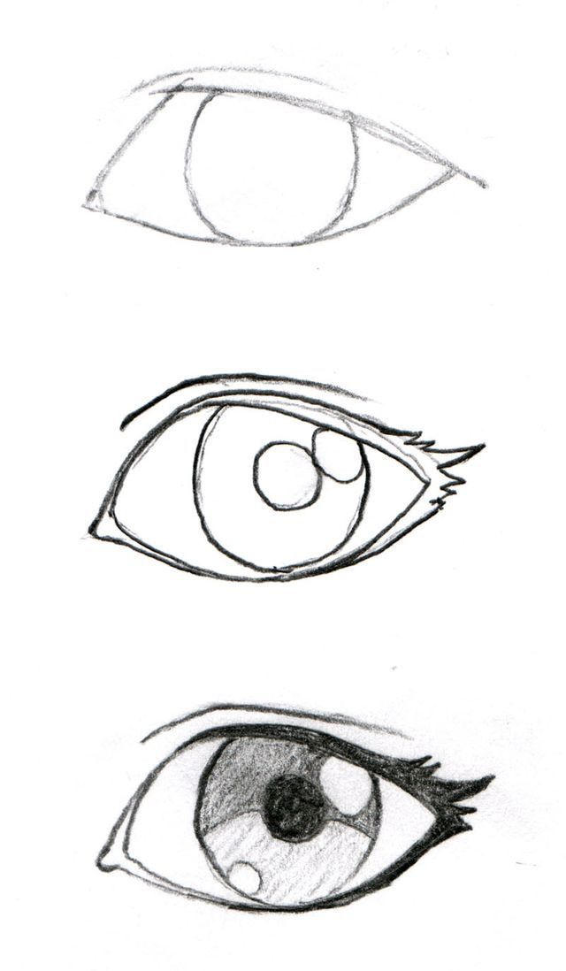 Drawing Eyes Manga Stuff Art