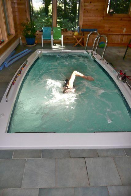 Fiberglass Pools Swim Spas And Plunge Pools With Images Swim