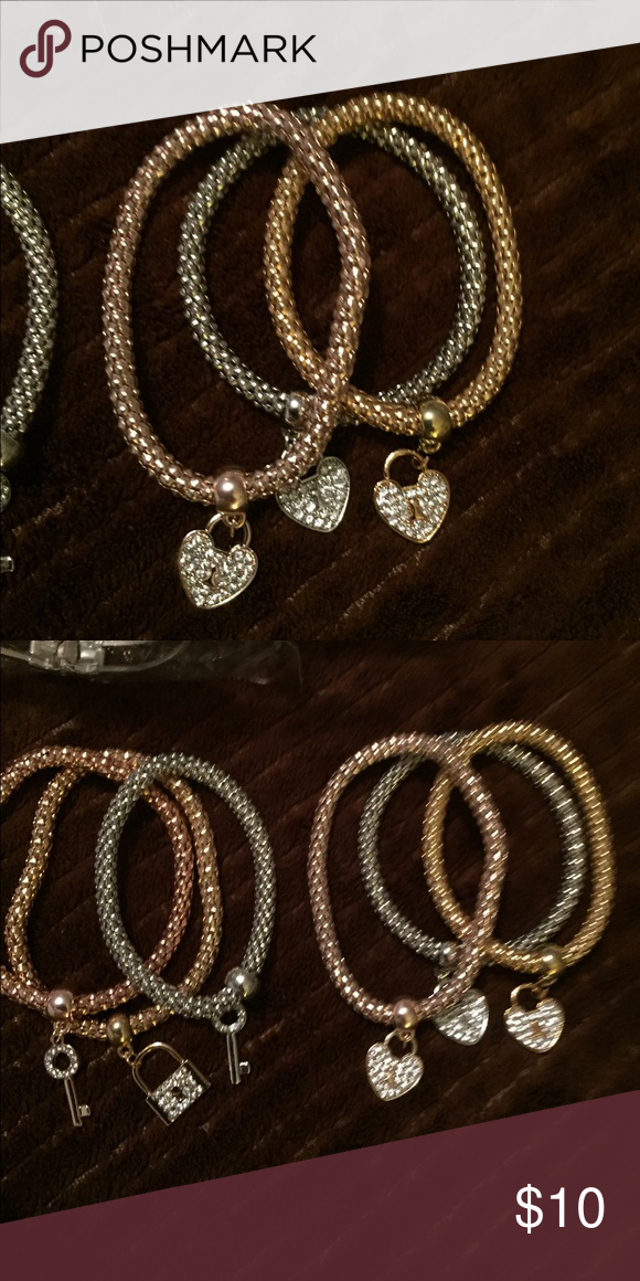 2 different kinds of bracelets You can mix and match these the