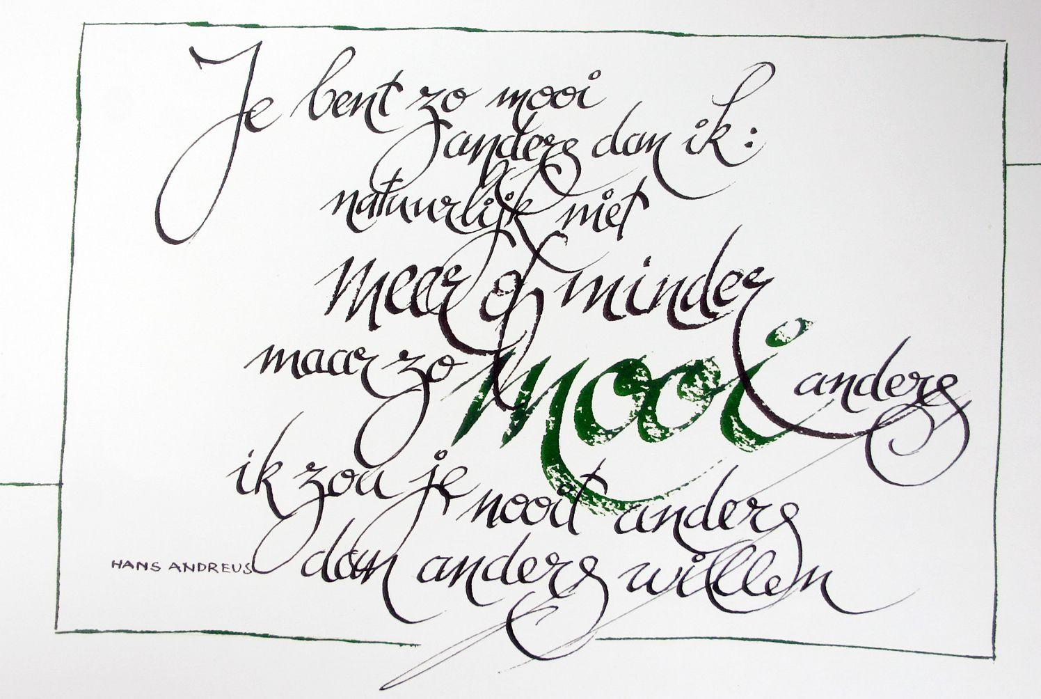 Citaten Cursief : Kalligrafie persoonlijk werk letters in steen