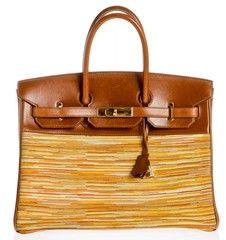 e35a4d4b937 Hermes Vibrato Birkin Noisette Box Leather 35cm Handbag