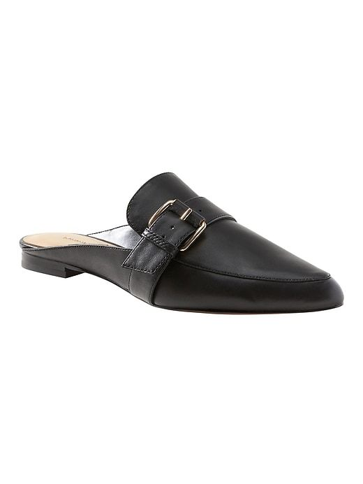 066b675f712 Banana Republic Buckle Slide | Products | Shoes, Leather, Banana ...