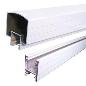 Best Peak Aluminum Railing White 6 Ft Aluminum Stair Hand And 640 x 480