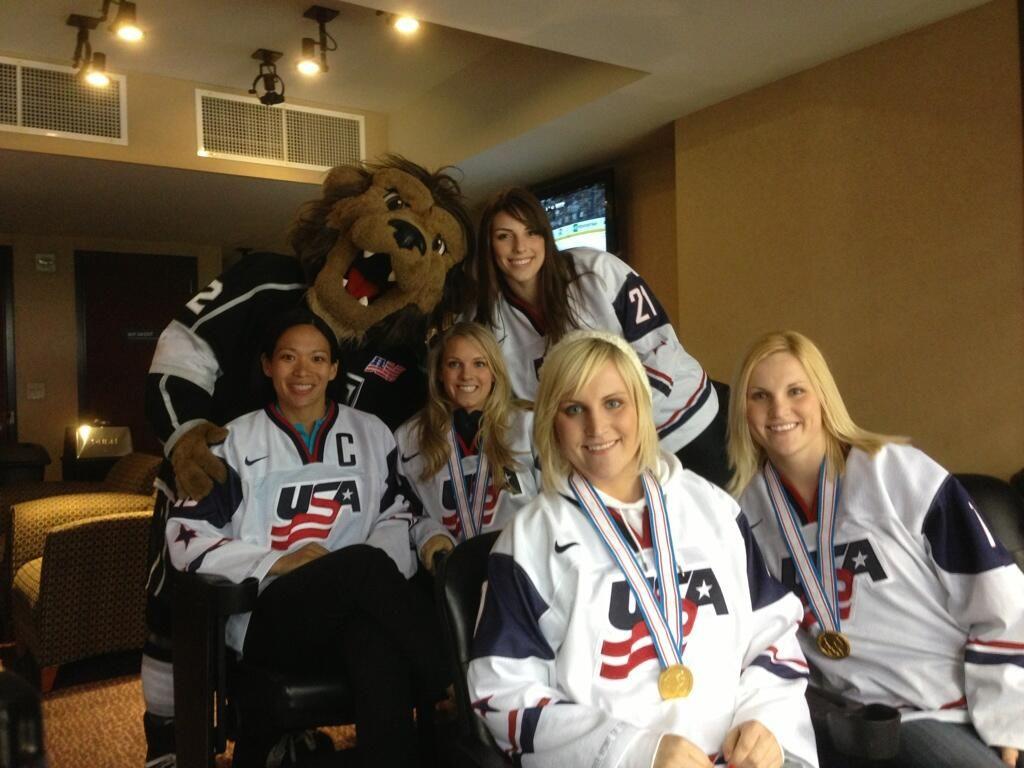 NBC/USOC Photo Shoot Kings Game Team usa hockey, Usa